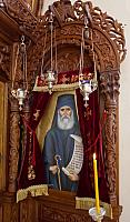 First Liturgy in Agios Paisios Church, 26.01.2015
